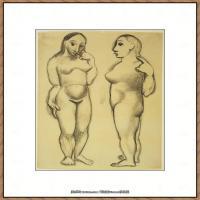 西班牙画家巴勃罗毕加索Pablo Picasso现代派素描毕加索手稿高清图片毕加索素描作品 (162)