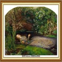 十九世纪英国画家约翰埃弗里特米莱斯John Everett Millais拉斐尔前派画家 (38)