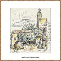 保罗西涅克Paul Signac法国新印象派点彩派大师西涅克绘画作品集Vaiso