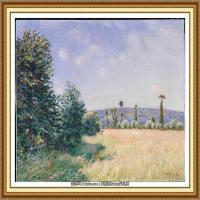 阿尔弗莱德西斯莱Alfred Sisley法国印象派画家世界著名画家风景油画高清图片 (25)