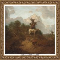 英国画家托马斯庚斯博罗Thomas Gainsborough肖像画家及风景图片 (12)