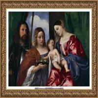 意大利画家提香韦切利奥Tiziano Vecellio西方油画之父提香大师作品高清图片威尼斯画派 (180)