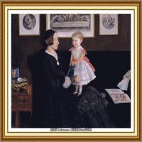 十九世纪英国画家约翰埃弗里特米莱斯John Everett Millais拉斐尔前派画家 (35)