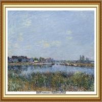 阿尔弗莱德西斯莱Alfred Sisley法国印象派画家世界著名画家风景油画高清图片 (43)