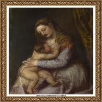 意大利画家提香韦切利奥Tiziano Vecellio西方油画之父提香大师作品高清图片威尼斯画派 (232)