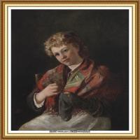 十九世纪英国画家约翰埃弗里特米莱斯John Everett Millais拉斐尔前派画家 (28)