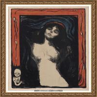 爱德华蒙克Edvard Munch挪威表现主义画家绘画作品集蒙克作品高清图片 (23)