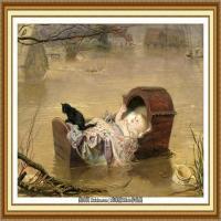 十九世纪英国画家约翰埃弗里特米莱斯John Everett Millais拉斐尔前派画家 (11)