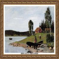 爱德华蒙克Edvard Munch挪威表现主义画家绘画作品集蒙克作品高清图片 (30)