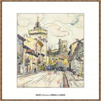 保罗西涅克Paul Signac法国新印象派点彩派大师西涅克绘画作品集VIVIER