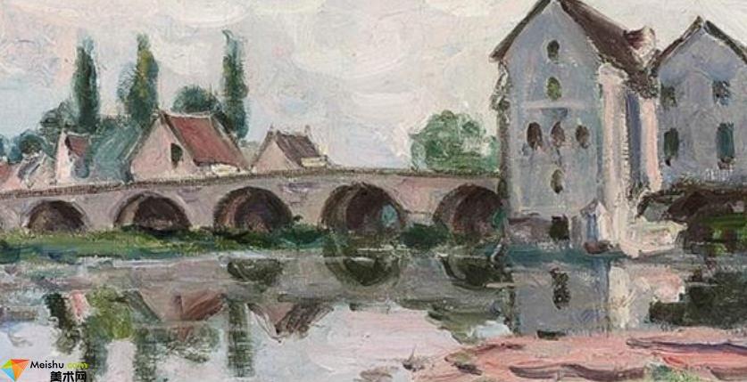 阿爾弗萊德·西斯萊Alfred Sisley-油畫展(一)