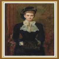 十九世纪英国画家约翰埃弗里特米莱斯John Everett Millais拉斐尔前派画家 (33)