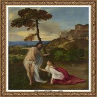 意大利画家提香韦切利奥Tiziano Vecellio西方油画之父提香大师作品高清图片威尼斯画派 (227)