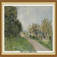 阿尔弗莱德西斯莱Alfred Sisley法国印象派画家世界著名画家风景油画高清图片 (44)