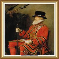 十九世纪英国画家约翰埃弗里特米莱斯John Everett Millais拉斐尔前派画家 (24)