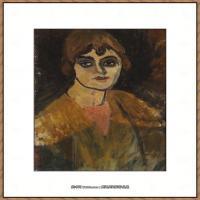 阿梅代奥莫迪利亚尼Amedeo Modigliani意大利著名画家绘画作品集油画作品高清图片cariatides