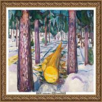 爱德华蒙克Edvard Munch挪威表现主义画家绘画作品集蒙克作品高清图片 (4)