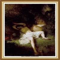 19世纪法国巴比松派画家让弗朗索瓦米勒Jean Francois Millet绘画作品集现实主义画家米勒 (4)