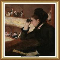 19世纪著名美国印象派女画家玛丽卡萨特Mary Cassatt绘画作品集油画作品高清图片 (95)