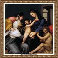 意大利杰出的画家拉斐尔Raphael神将治愈God has healed油画作品高清大图 (57)