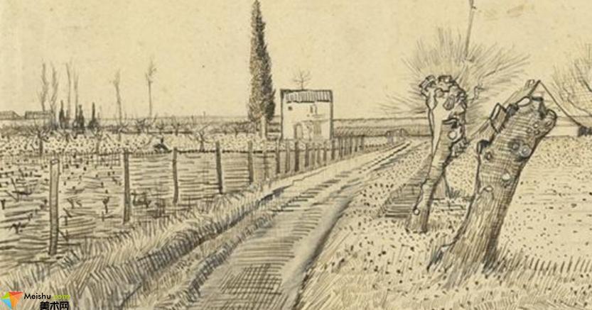 荷蘭畫家梵高-素描展(一)