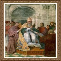 意大利杰出的画家拉斐尔Raphael神将治愈God has healed油画作品高清大图 (80)