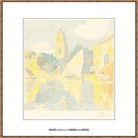 保罗西涅克Paul Signac法国新印象派点彩派大师西涅克绘画作品集 St