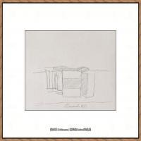 乔治莫兰迪Giorgio Morandi意大利著名的版画家油画家绘画作品集莫兰迪油画作品高清图片 (21)