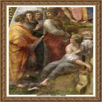 意大利杰出的画家拉斐尔Raphael神将治愈God has healed油画作品高清大图 (59)