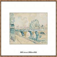 保罗西涅克Paul Signac法国新印象派点彩派大师西涅克绘画作品集Paris