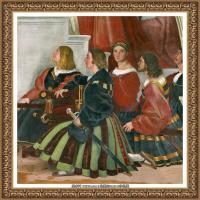 意大利杰出的画家拉斐尔Raphael神将治愈God has healed油画作品高清大图 (98)