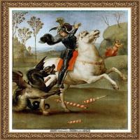 意大利杰出的画家拉斐尔Raphael神将治愈God has healed油画作品高清大图 (79)