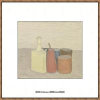 乔治莫兰迪Giorgio Morandi意大利著名的版画家油画家绘画作品集莫兰迪油画作品高清图片 (25)