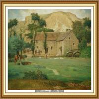 19世纪法国巴比松派画家让弗朗索瓦米勒Jean Francois Millet绘画作品集现实主义画家米勒 (29)