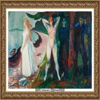 爱德华蒙克Edvard Munch挪威表现主义画家绘画作品集蒙克作品高清图片 (19)