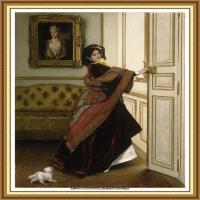 阿尔弗莱德西斯莱Alfred Sisley法国印象派画家世界著名画家风景油画高清图片 (15)
