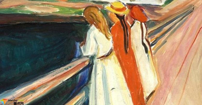愛德華·蒙克Edvard Munch-作品展(二)