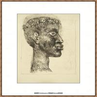 西班牙画家巴勃罗毕加索Pablo Picasso现代派素描毕加索手稿高清图片毕加索素描作品 (7)