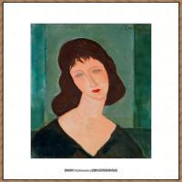 阿梅代奥莫迪利亚尼Amedeo Modigliani意大利著名画家绘画作品集油画作品高清图片deHory