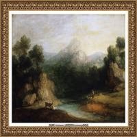 英国画家托马斯庚斯博罗Thomas Gainsborough肖像画家及风景图片 (19)