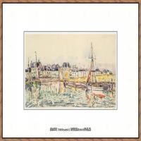 保罗西涅克Paul Signac法国新印象派点彩派大师西涅克绘画作品集 (French, Paris 1863