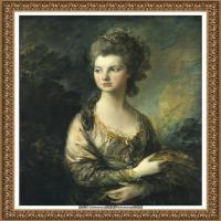 英国画家托马斯庚斯博罗Thomas Gainsborough肖像画家及风景图片 (92)
