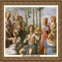 意大利杰出的画家拉斐尔Raphael神将治愈God has healed油画作品高清大图 (61)