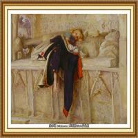 十九世纪英国画家约翰埃弗里特米莱斯John Everett Millais拉斐尔前派画家 (9)