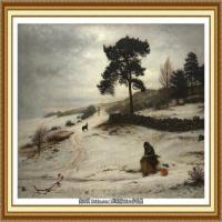 十九世纪英国画家约翰埃弗里特米莱斯John Everett Millais拉斐尔前派画家 (37)