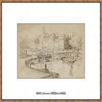 保罗西涅克Paul Signac法国新印象派点彩派大师西涅克绘画作品集Rotterdam