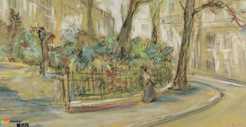 愛德華·維亞爾Edouard Vuillard-油畫展(一)