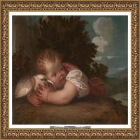 意大利画家提香韦切利奥Tiziano Vecellio西方油画之父提香大师作品高清图片威尼斯画派 (252)