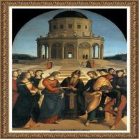 意大利杰出的画家拉斐尔Raphael神将治愈God has healed油画作品高清大图 (89)