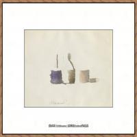 乔治莫兰迪Giorgio Morandi意大利著名的版画家油画家绘画作品集莫兰迪油画作品高清图片 (6)